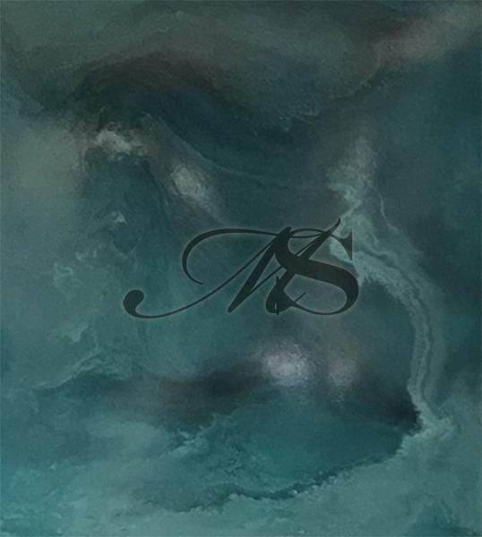 2017_Aqua Abstract 3 - Sold